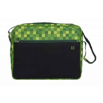 Besace créative Carré vert PXB-04-D24