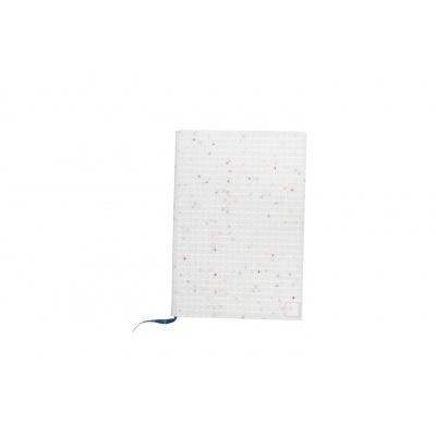 Bloc note créatif avec étui Etoiles blanches PXN-01-G22