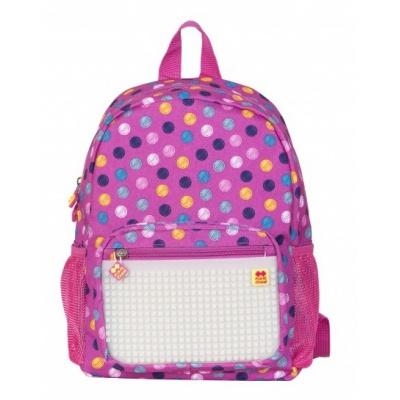 Sac à dos loisir créatif pour enfant à Pixel points / fluorescent PXB-18-01