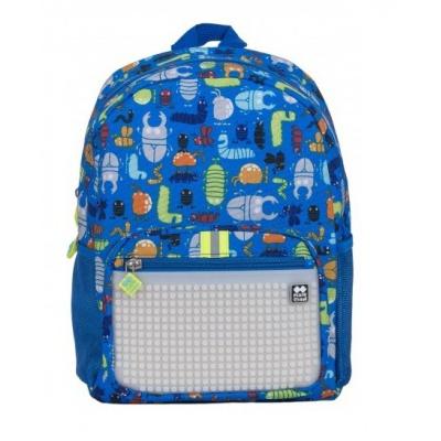 Sac à dos loisir créatif pour enfant à Pixel Insectes / fluorescent PXB-18-03