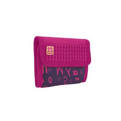 Portefeuille créative à Pixel Pixie Crew alphabet violet PXA-10