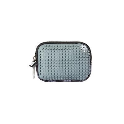 Pochette créative à Pixel PIXIE CREW carré gris PXA-08-15