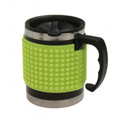 Mug isotherme à Pixel vert néon PNX-02-05
