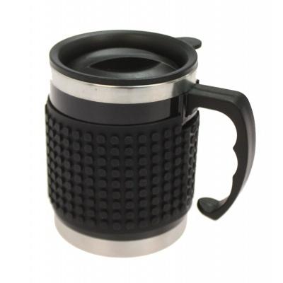 Mug Isotherme à Pixel Noir PXN-02-24