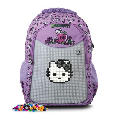 Sac à dos scolaire créatif à Pixel Hello Kitty PXB-06-89