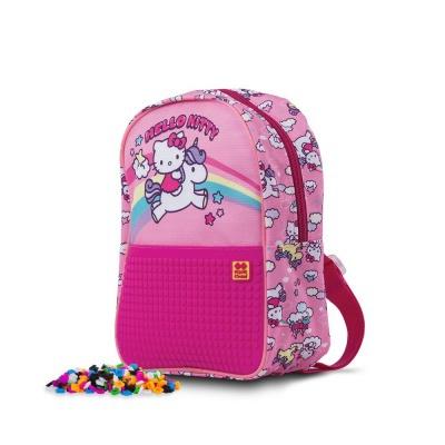 Sac à dos loisir créatif pour enfant à Pixel Hello Kitty - unicorne PXB-24-88