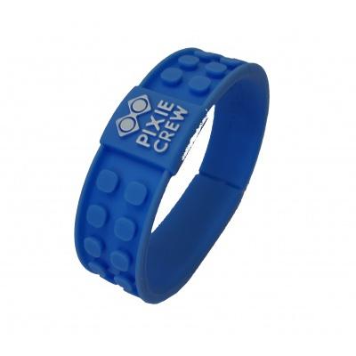 Bracelet créatif à Pixel bleu DINO