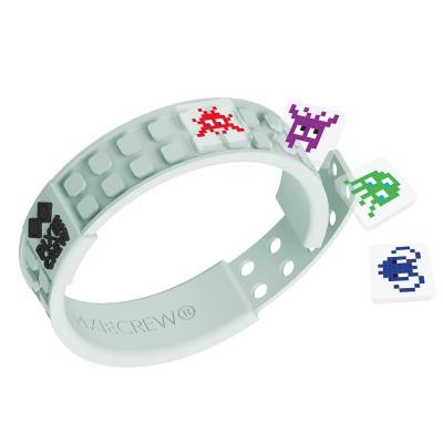 Bracelet créatif à Pixel fluorescent - digi
