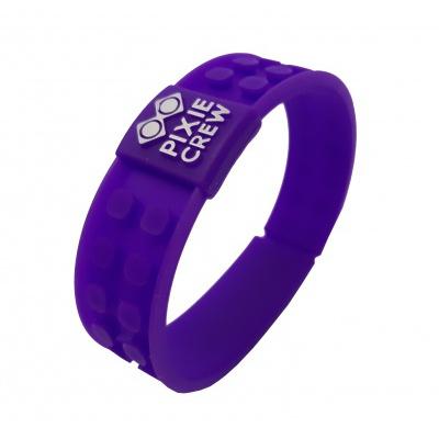 Bracelet créatif à Pixel violet Hello Kitty
