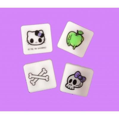 Multipixels Hello Kitty - tête de mort