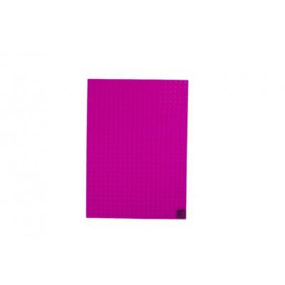 Panneau éducatif et ludique carré fushia PXX-01-15