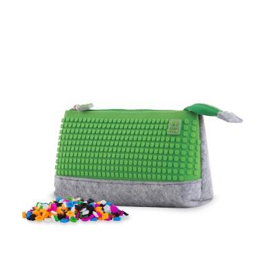 Trousse créative à Pixel gris / vert  PXA-01-W07