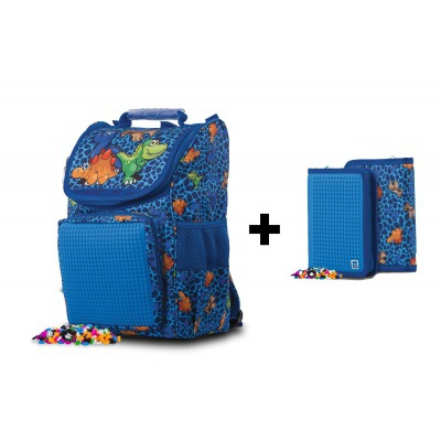 KIT cartable + trousse Dino PXB-22-90-SET