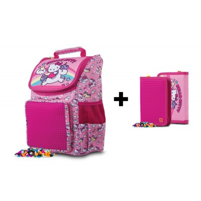 KIT cartable + trousse Hello Kitty PXB-22-88-SET